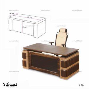 میز کارمندی و کارشناسی k66