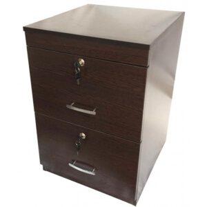 فایل اداری چوبی ۲ کشو