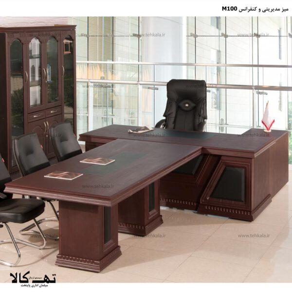 میز مدیریت و کنفرانس M100